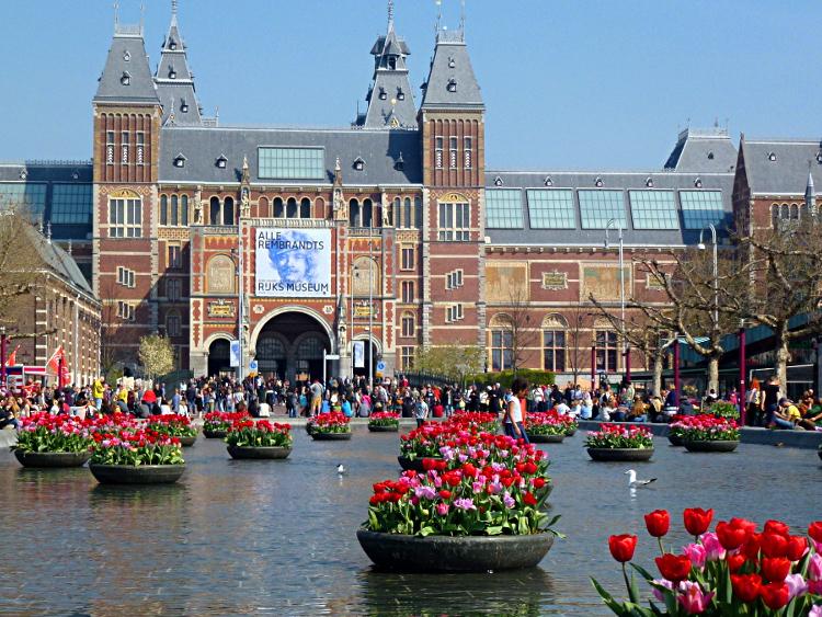 Tulpenfest am Museumsplein