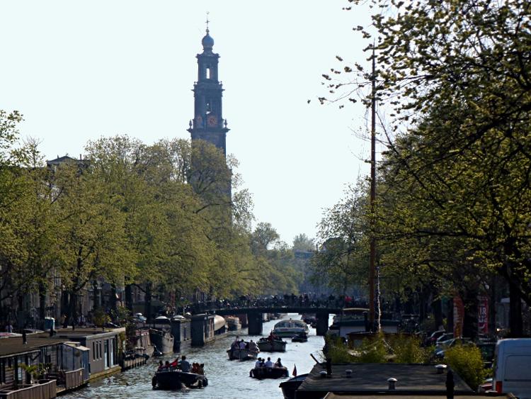 Prinsengracht mit Westerkerk