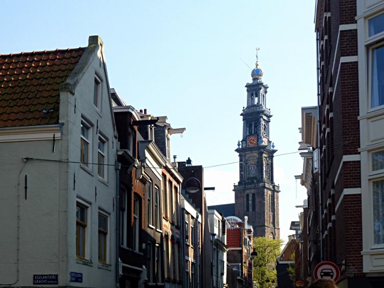 Jordaan mit Westerkerk