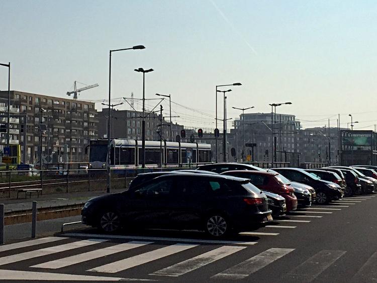 P&R-Parkplatz Amsterdam-Zeeburg