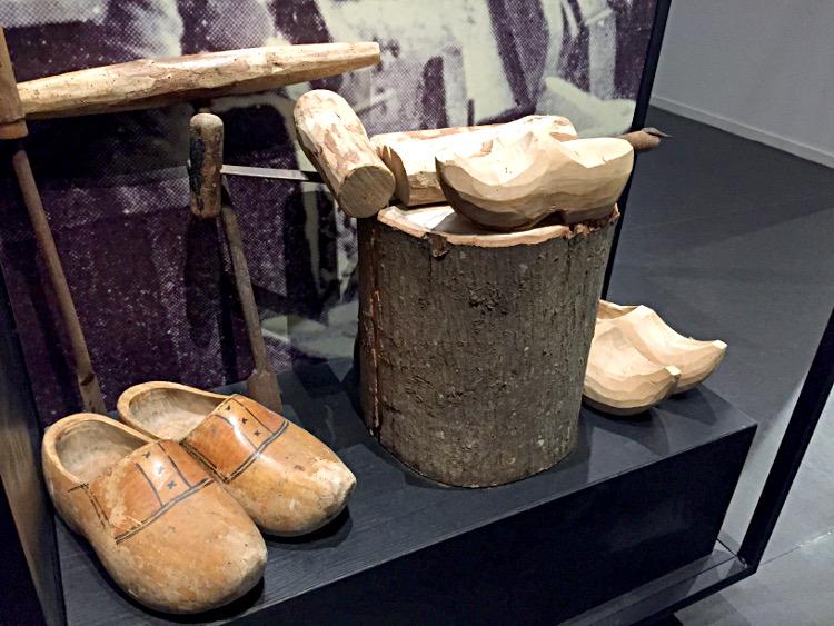 Klompen im Museum Giethoorn