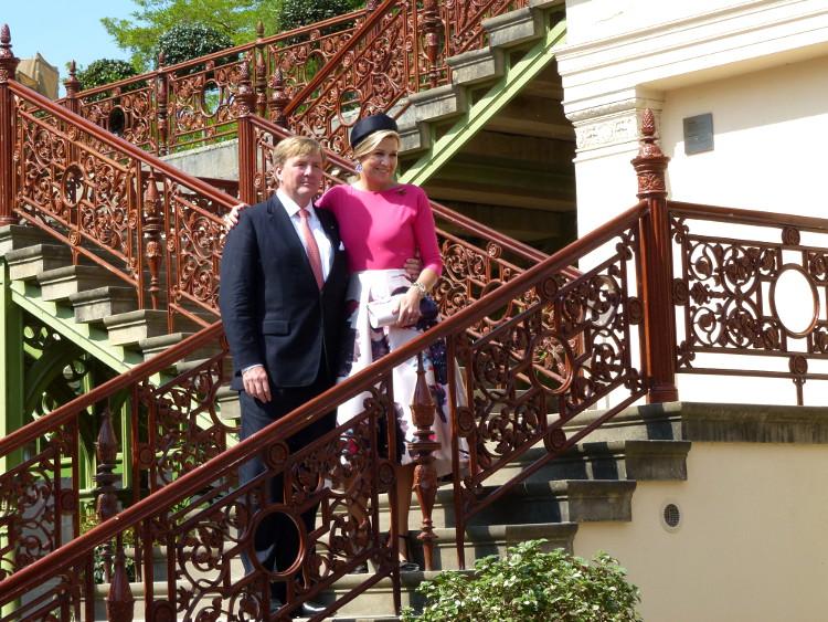 Besuch des niederländischen Königspaares in Schwerin - König Willem-Alexander und Königin Máxima