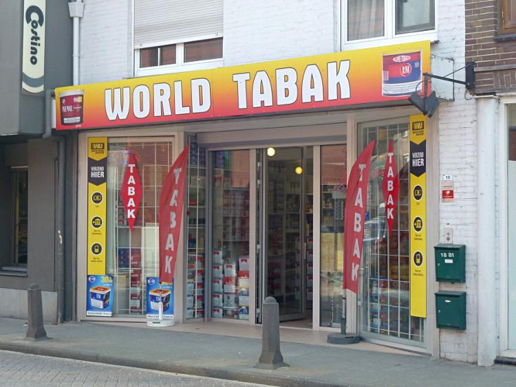 Tabakgeschäft in Baarle-Hertog