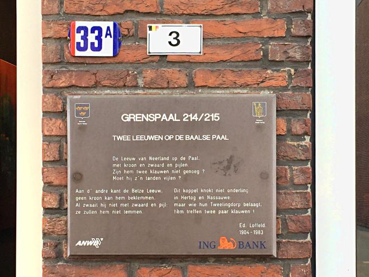 Hausnummern in Baarle-Nassau und Baarle-Hertog