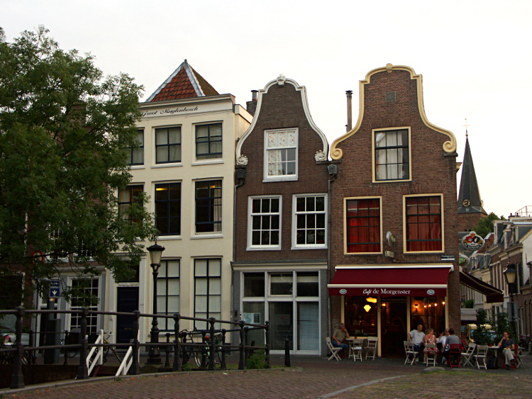 Grachtenhäuser in Utrecht