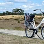 Mit dem weißen Fahrrad durch die Hoge Veluwe