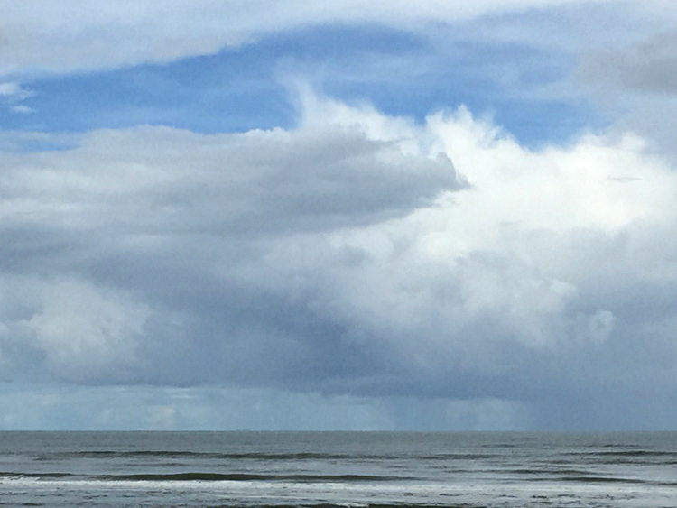 Blau: Himmel und Meer