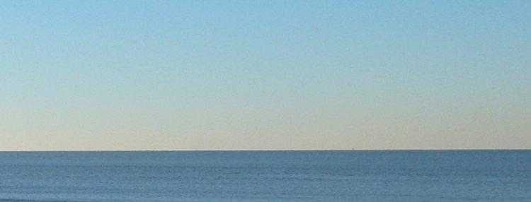 Wasser, Himmel, Blau