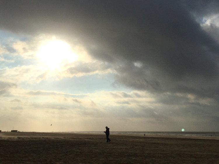 Vlieland Strandszene