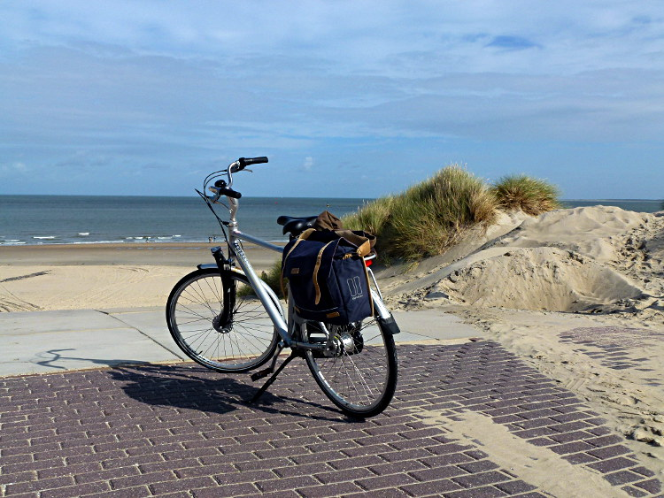 Fahrrad auf Vlieland