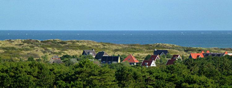 Vlieland Blick auf die Nordsee