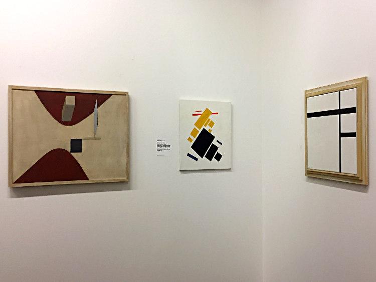Lissitzky, Malevitch, Mondriaan im van Abbemuseum