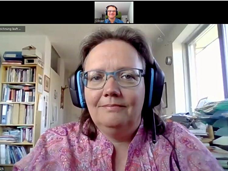 Katja B.Zaich Videokonferenz