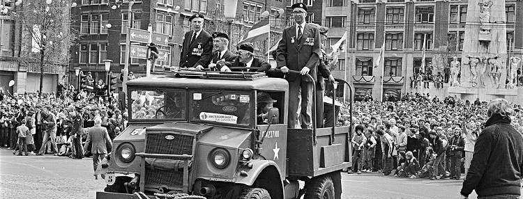 Bevrijdingsdag in Amsterdam