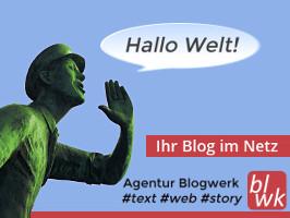 Banner Agentur Blogwerk - Bloggen als Dienstleistung