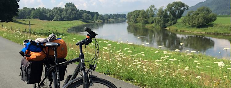 Weserradweg Titel groß