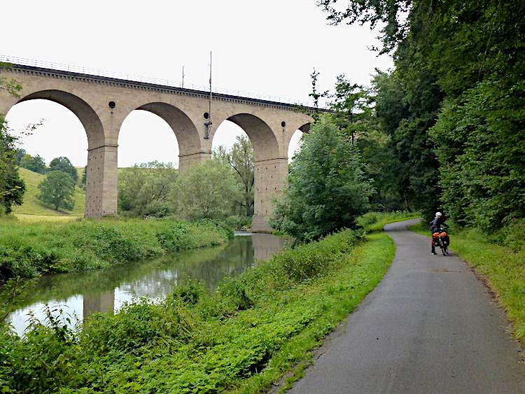 Eisenbahnbrücke über die Diemel