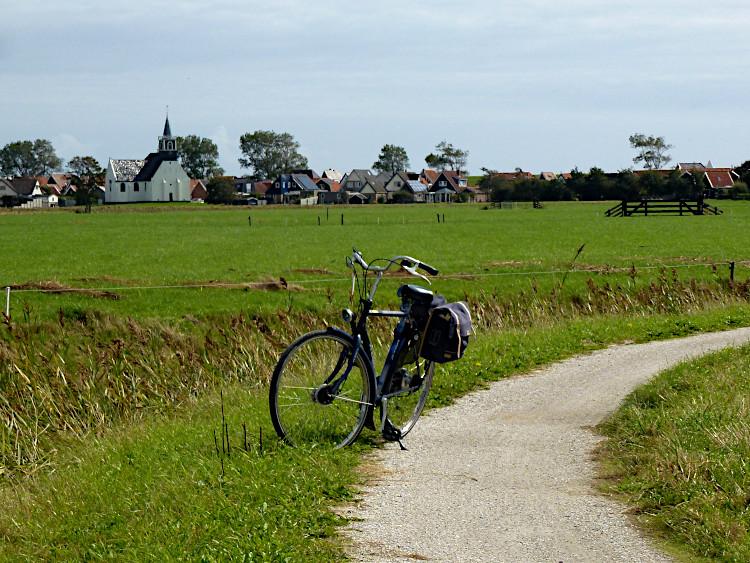 Fahrradweg Texel
