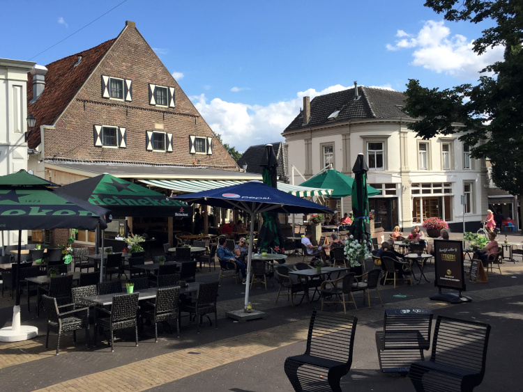 Marktplatz in Aalten