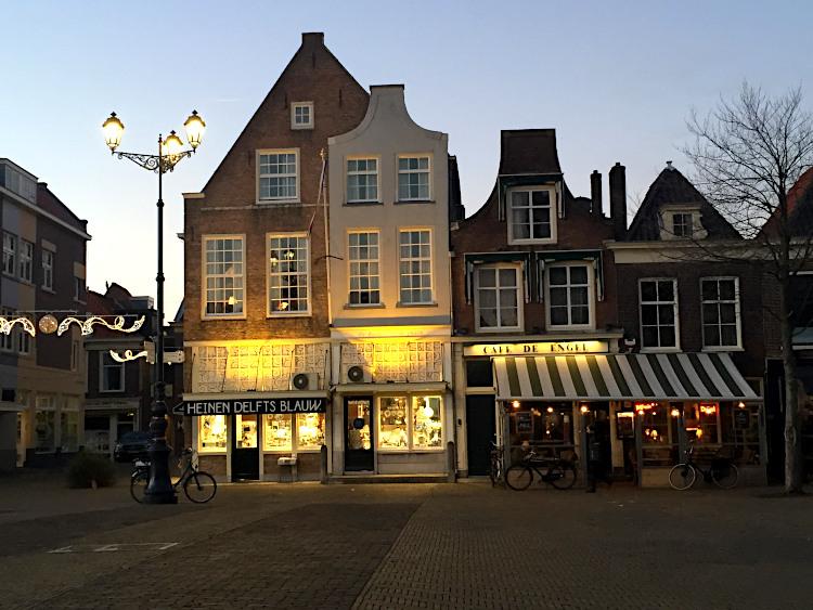Abendstimmung in Delft