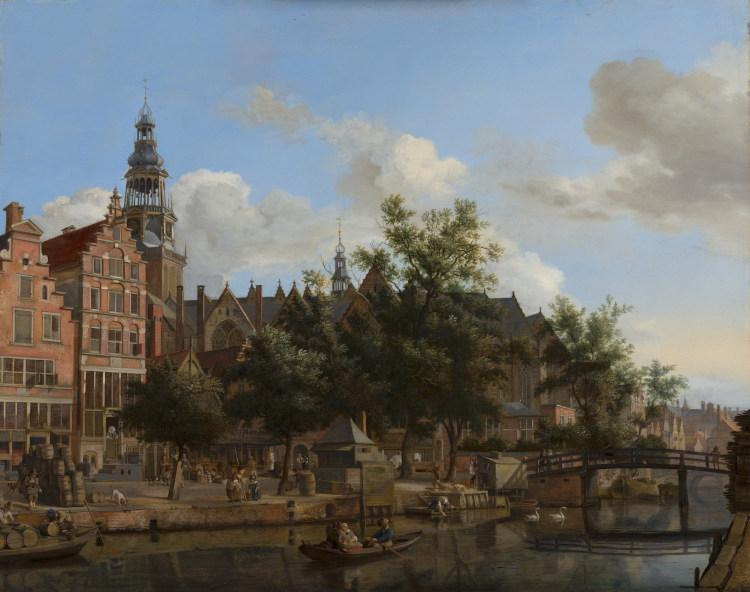 Oudezijds Voorburgwal, Jan van der Heyden